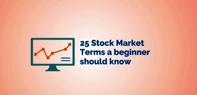 25 Stock Market Terms